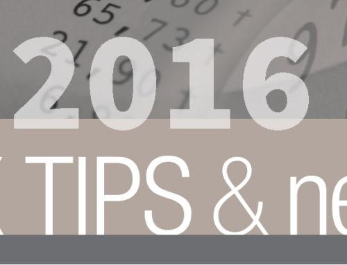 Notice on 2016 Tax Notices